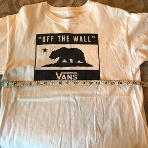 Slightly faded men's VANS shirt Medium